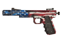 "Volquartsen American Flag 6"" Scorpion 1911 Style Frame, Sights and Comp"