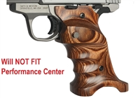 Volquartsen Brown Right Hand Laminated Wood Grips for S&W SW22 Victory VCSWG