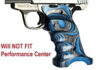Volquartsen Blue Right Hand Laminated Wood Grips for S&W SW22 Victory VCSWG