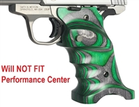 Volquartsen Green Right Hand Laminated Wood Grips for S&W SW22 Victory VCSWG