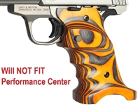 Volquartsen Orange Right Hand Laminated Wood Grips for S&W SW22 Victory VCSWG