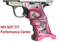 Volquartsen Pink Right Hand Laminated Wood Grips for S&W SW22 Victory VCSWG