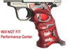 Volquartsen Red & Gray Right Hand Laminated Wood Grips for S&W SW22 Victory