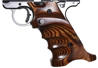 Volquartsen Laminated Wood Pistol Grips Ruger MK IV Brown VCTRG‑4‑B‑R