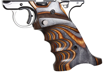 Volquartsen Laminated Wood Pistol Grips Ruger MK IV Brown & Gray VCTRG‑4‑BG‑R