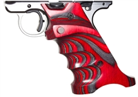 Volquartsen Laminated Wood Pistol Grips Ruger MK IV Red VCTRG‑4‑R‑R