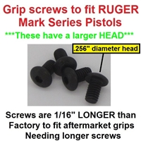 Panhead Grip Screws for Ruger Mark 1 2 3 4 IV Pistols Standard Frame