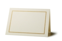 Gold Border Seating Cards