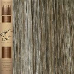 "A List Flat Tip, Pre Bonded Remy Human Hair Extensions 22"" Colour 10/SB"