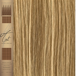"A List Flat Tip, Pre Bonded Remy Human Hair Extensions 22"" Colour 13/15"