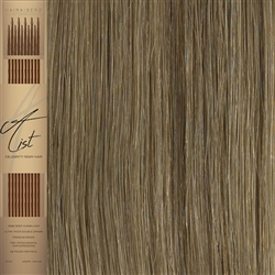 "A List Flat Tip, Pre Bonded Remy Human Hair Extensions 22"" Colour 16/18"
