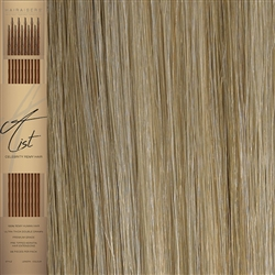 "A List Flat Tip, Pre Bonded Remy Human Hair Extensions 22"" Colour 16/SB"