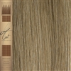 "A List Flat Tip, Pre Bonded Remy Human Hair Extensions 22"" Colour 18/22"