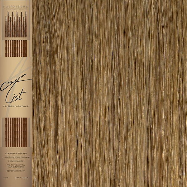 22 Inches Flat Tip Pre Bonded Remy Human Hair Extensions Colour 27