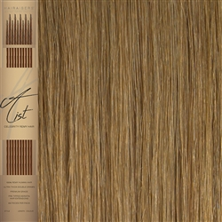 "A List Flat Tip, Pre Bonded Remy Human Hair Extensions 22"" Colour 27"