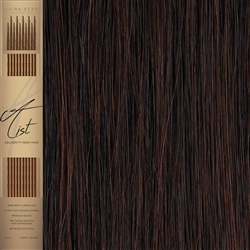 "A List Flat Tip, Pre Bonded Remy Human Hair Extensions 22"" Colour 32"