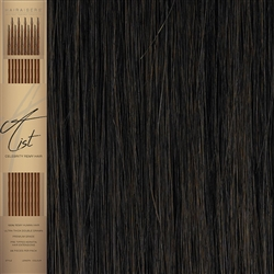 "A List Flat Tip, Pre Bonded Remy Human Hair Extensions 22"" Colour 4"