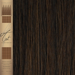 "A List Flat Tip, Pre Bonded Remy Human Hair Extensions 22"" Colour 5"