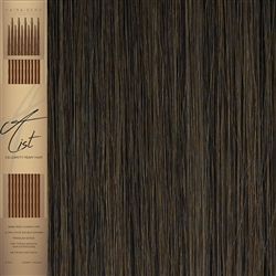 "A List Flat Tip, Pre Bonded Remy Human Hair Extensions 22"" Colour 6"