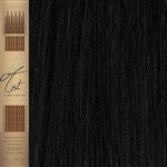 A-List I Tip Remy Hair Extensions Colour 1B.