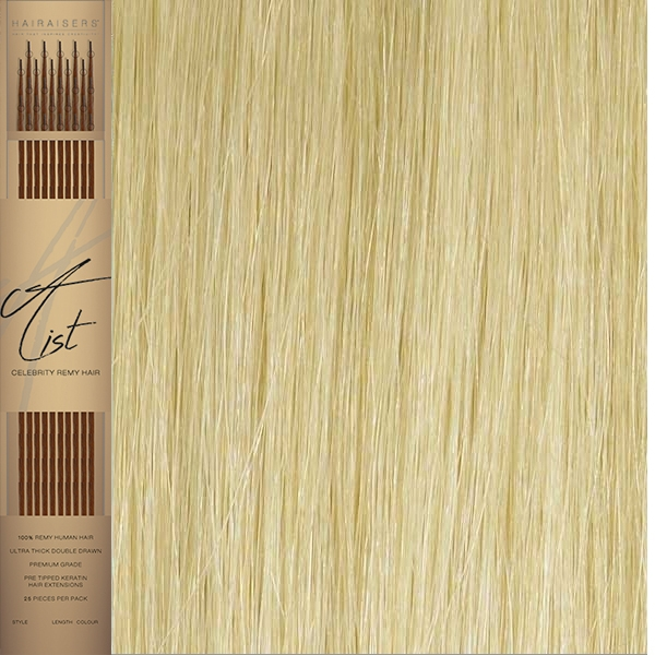 Micro Ring A List I Tip Remy Hair Extensions 22 Inches Colour Platinum