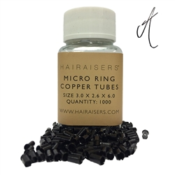 A-List I Tip Copper Tube Micro Rings x 1000