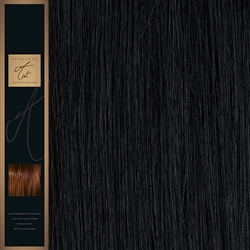 "A-List. 120 Grams Double Drawn Remy Hair Weft 18"" Colour 1"