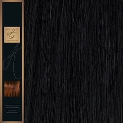 "A-List. 120 Grams Double Drawn Remy Hair Weft 18"" Colour 1B"