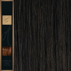 "A-List. 120 Grams Double Drawn Remy Hair Weft 18"" Colour 4"