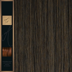 "A-List. 120 Grams Double Drawn Remy Hair Weft 18"" Colour 6"