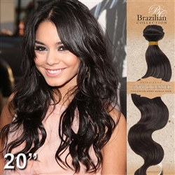 Brazilian Body Wave Remy Human Hair Weft 100 Grams - 20 Inches Long