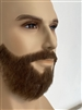 Human Hair Theatrical Beard and Moustache Combination 11