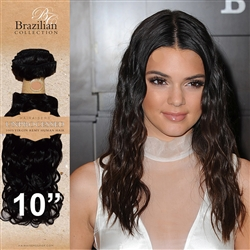 Unprocessed Virgin Brazilian Jackson Curl Human Hair Weft 10 Inches. 100g