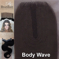 Hair Closure. Body Wave Remy Human Hair