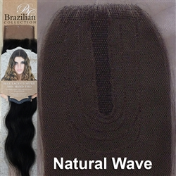 Hair Closure. Natural Wave Remy Human Hair