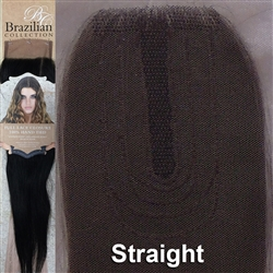 Hair Closure. Straight Remy Human Hair