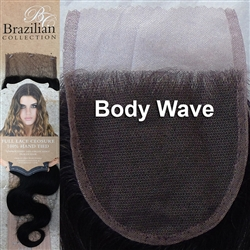 Lace Hair Closure Body Wave Remy Human Hair