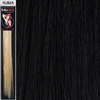 Colour Flash Clip In Human Hair Flashes 14 Inches Colour 1B
