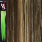 Colour Flash 16 inches Synthetic Clip in Hair Extensions Colour 14/24