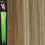Colour Flash 16 inches Synthetic Clip in Hair Extensions Colour 18/SB
