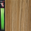 Colour Flash 16 inches Synthetic Clip in Hair Extensions Colour 24/SB