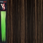 Colour Flash 16 inches Synthetic Clip in Hair Extensions Colour 6/27