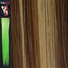 Colour Flash 16 inches Synthetic Clip in Hair Extensions Colour 722