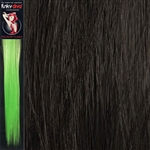 Colour Flash 16 inches Synthetic Clip in Hair Extensions Colour Brown