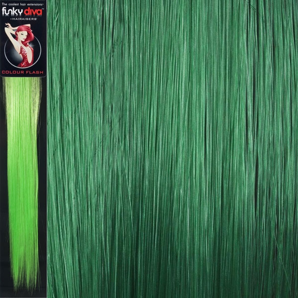Colour Flash 16 Inches Synthetic Clip In Hair Extensions Colour
