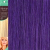 Clip and Go 1 High Heat Fiber Clip In Hair Extensions 18 Inches Lavender