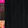 "High Heat Fiber Clip In Hair Extensions 18"" Colour 1"