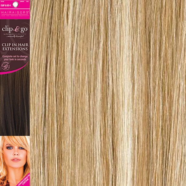 Fiber Clip In Hair Extensions 18 Colour 1622