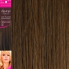 "Clip and Go 4 High Heat Fiber Clip In Hair Extensions 18"" Colour 30"