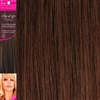 "Clip and Go 4 High Heat Fiber Clip In Hair Extensions 18"" Colour 33"